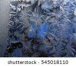 frost pattern. 9               ... | Shutterstock . vector #545018110