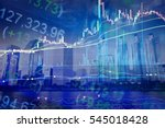 financial accounting of profit... | Shutterstock . vector #545018428