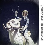 Small photo of Star Wars The Empire Strikes Back scene recreation of Han Solo riding a TaunTaun on the frozen planet of Hoth - Hasbro Black Series 6 inch action figures
