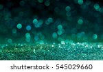 green sparkling lights festive... | Shutterstock . vector #545029660