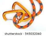 climbing equipment   detail... | Shutterstock . vector #545032060