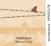 holocaust memorial day.... | Shutterstock .eps vector #545052178