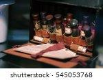 melikhovo  russia   circa june... | Shutterstock . vector #545053768