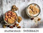 healthy meal   breakfast full... | Shutterstock . vector #545086624