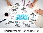 web design and development...   Shutterstock . vector #545086810