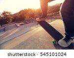 people legs practice... | Shutterstock . vector #545101024