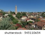 yivli minare mosque is a... | Shutterstock . vector #545110654