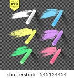 vector collection of hand drawn ... | Shutterstock .eps vector #545124454