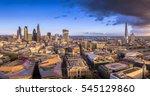 london  england   panoramic... | Shutterstock . vector #545129860
