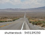 endless US Route 50 a.k.a. The Loneliest Road in America