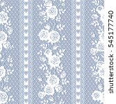 seamless lace pattern with... | Shutterstock .eps vector #545177740