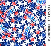 usa flag with stars and stripes ...   Shutterstock .eps vector #545197558