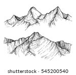 hand drawn vector illustration  ... | Shutterstock .eps vector #545200540