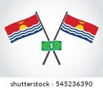 kiribati emblem dollar reserve | Shutterstock .eps vector #545236390
