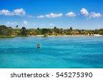 beautiful thursday island... | Shutterstock . vector #545275390