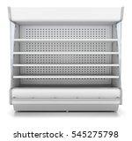 refrigerator showcase for... | Shutterstock . vector #545275798