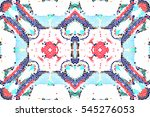 mosaic seamless colorful... | Shutterstock . vector #545276053