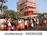 kollam  india  mar 25 devotees... | Shutterstock . vector #545304208
