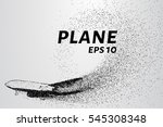 the plane of the particles.... | Shutterstock .eps vector #545308348