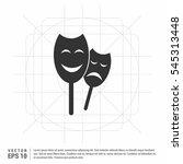 masks icon vector.