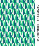 seamless geometric retro pattern | Shutterstock .eps vector #545318260