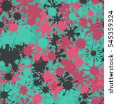 seamless pattern of colored... | Shutterstock .eps vector #545359324