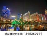 macau  china   december 8  2016 ...   Shutterstock . vector #545360194