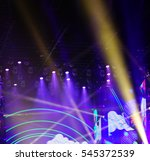 defocused entertainment concert ... | Shutterstock . vector #545372539