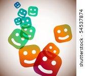 keep smile | Shutterstock .eps vector #54537874