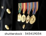military medals on uniform usmc
