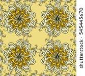 mandalas background. vector... | Shutterstock .eps vector #545445670