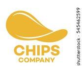 chips logo | Shutterstock .eps vector #545462599