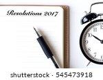conceptual notebook on a white... | Shutterstock . vector #545473918