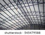 parking structures  large metal ... | Shutterstock . vector #545479588