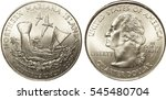 Small photo of Northern Marian Islands Quarter Coin Picture