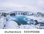 Beautiful Winter Godafoss...