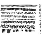 ink doodles | Shutterstock .eps vector #545510830