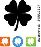 clover icon | Shutterstock .eps vector #545513929