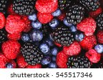 Berries Mix Fruit Color Food...