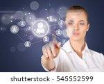 friend. | Shutterstock . vector #545552599