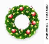 vector realistic christmas... | Shutterstock .eps vector #545565880