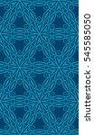 seamless flower pattern.... | Shutterstock .eps vector #545585050