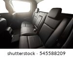 black pickup back leather seat... | Shutterstock . vector #545588209