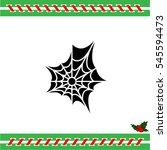 web line icon. spiderweb  web... | Shutterstock .eps vector #545594473
