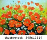 poppies  pictures  textures ... | Shutterstock . vector #545613814