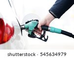 car refueling on the petrol...   Shutterstock . vector #545634979