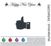 vector thumb up icon   Shutterstock .eps vector #545641390