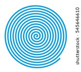spiral vector backgrounds. blue ... | Shutterstock .eps vector #545646610
