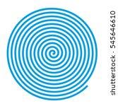 Spiral Vector Backgrounds. Blu...