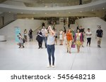 new york   sept 11 2016  people ... | Shutterstock . vector #545648218
